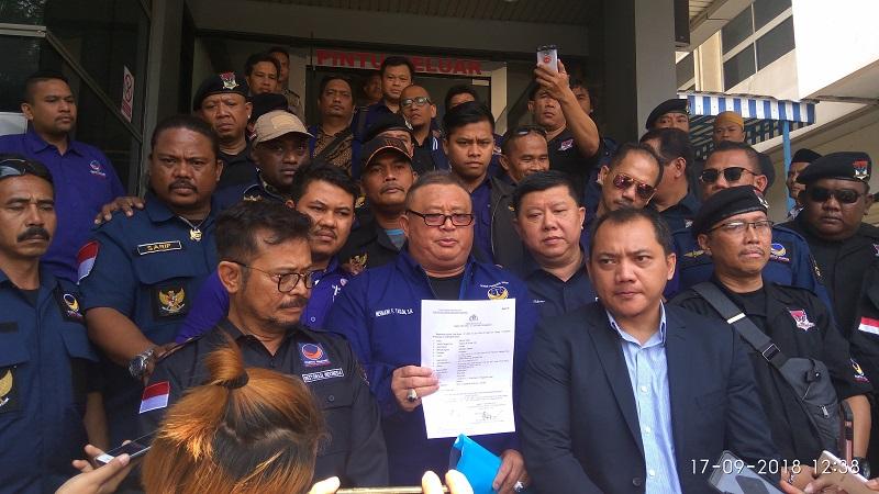 Nasdem polisikan Rizal Ramli terkait tudingan Suryo Paloh dalang impor. (Foto : Badriyanto/Okezone)