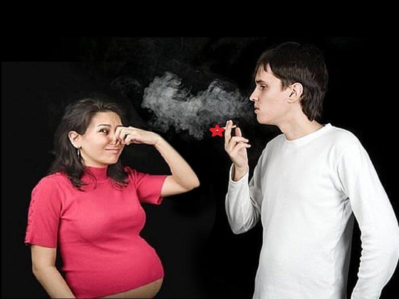 ibu hamil terpapar asap rokok