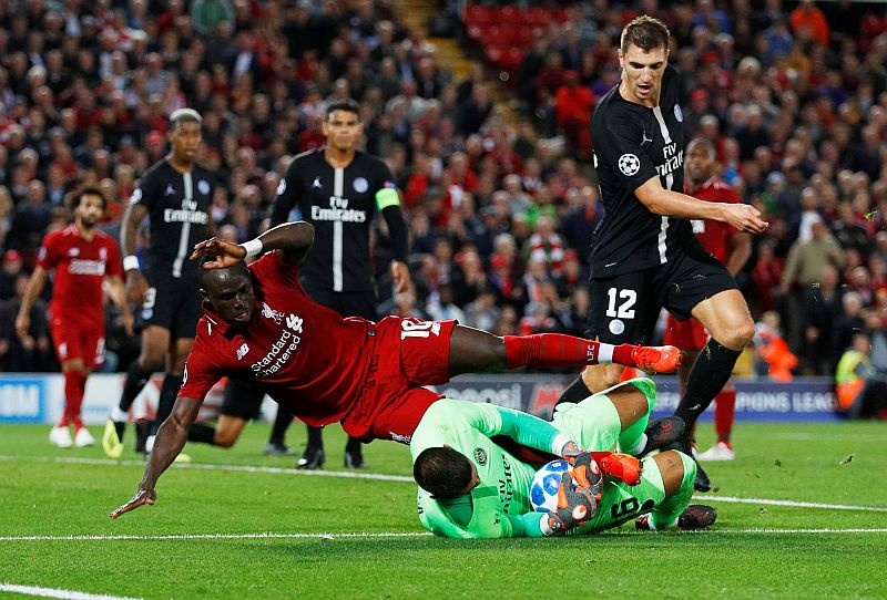 Liverpool vs PSG (Foto: Reuters)