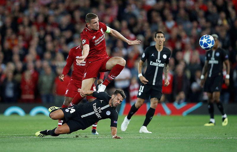 Liverpool vs PSG (Foto: Reuters)