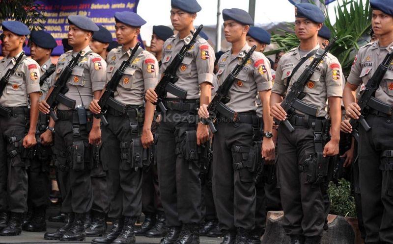 Ilustrasi Pengamanan Polisi (foto: Okezone)