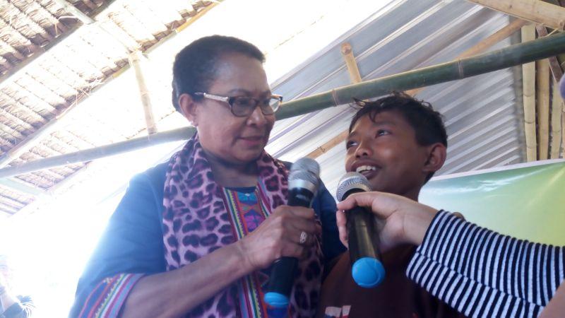 Menteri Yohana (Dewi Kania/Okezone)