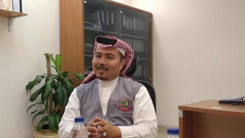 Kepala Pelayanan Kesehatan Komite Haji Arab Saudi untuk Asia Tenggara, Ehsan A. Bouges (Foto : Amril Amarullah/Okezone)