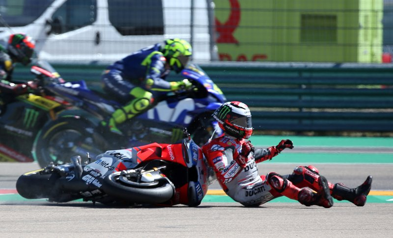 Jorge Lorenzo. (Foto: Laman resmi MotoGP)