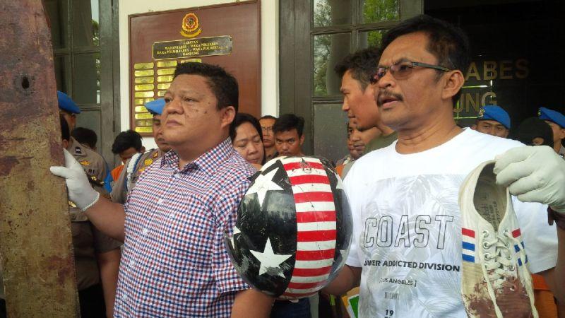 Polresta Bandung Ungkap Kasus Pengeroyokan The Jakmania (foto: CDB Yudistira/Okezone)