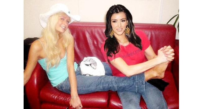 Kim Kardashian dan Paris Hilton Foto: The Daily Beast