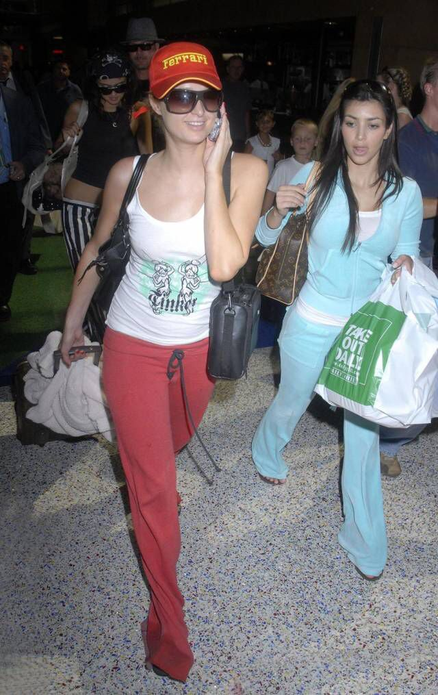 Kim Kardashian dan Paris Hilton