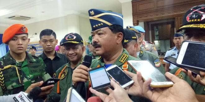 Panglima TNI Marsekal Hadi Tjahjanto. (Foto: Puteranegara Batubara/Okezone)