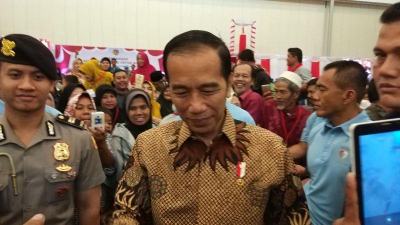 Presiden Jokowi (Hambali/Okezone)