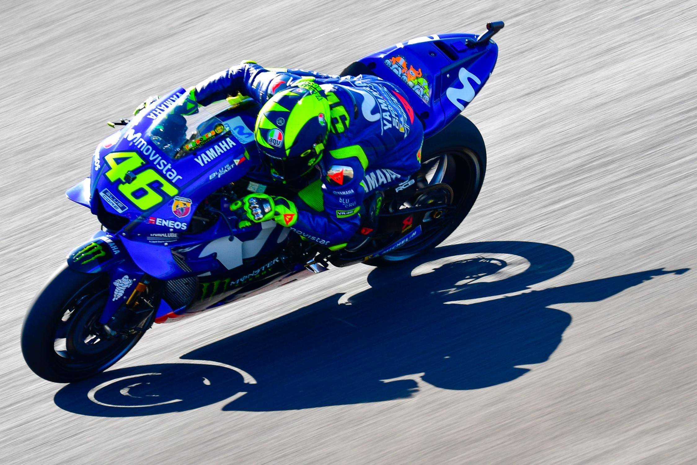 Valentino Rossi. Foto: AFP