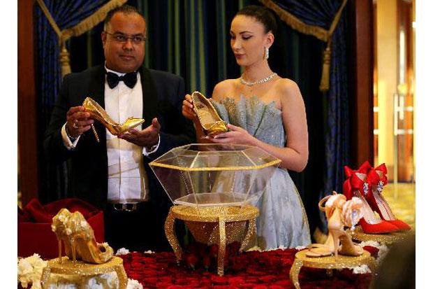 Sepatu Emas berlian (Koran Sindo)