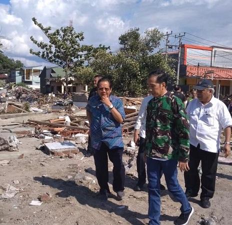 Hasil gambar untuk Pemerintah Gerak Cepat Atasi Dampak Gempa dan Tsunami Palu