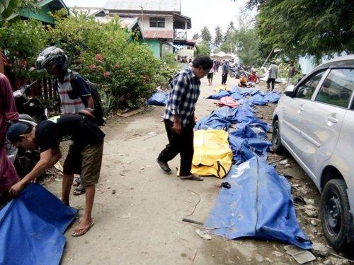 Gempa Palu. (Foto: Reuters)