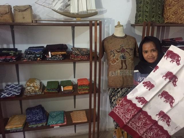 Batik Banten (Pradita Ananda/Okezone)