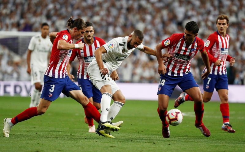 Madrid vs Atletico (Foto: Reuters)