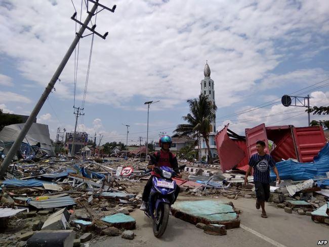 Bencana Gempa di Palu