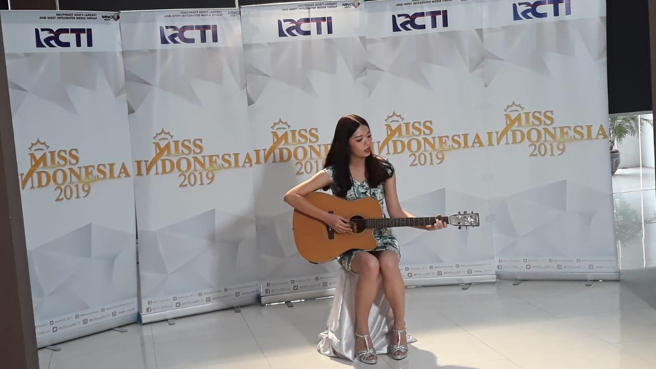 Audisi Miss Indonesia Angeline (Kuntadi/Okezone)