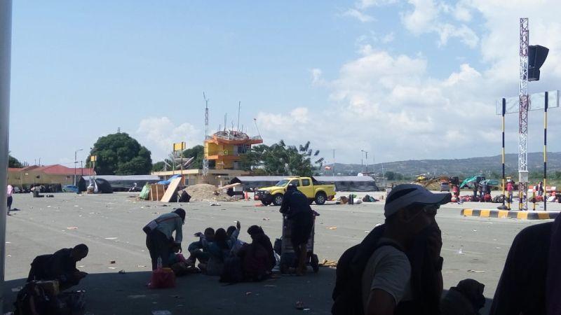 Kondisi Bandara Mutiara Sis Al Jufri, Kota Palu, Sulteng (foto: Taufik F/Okezone)