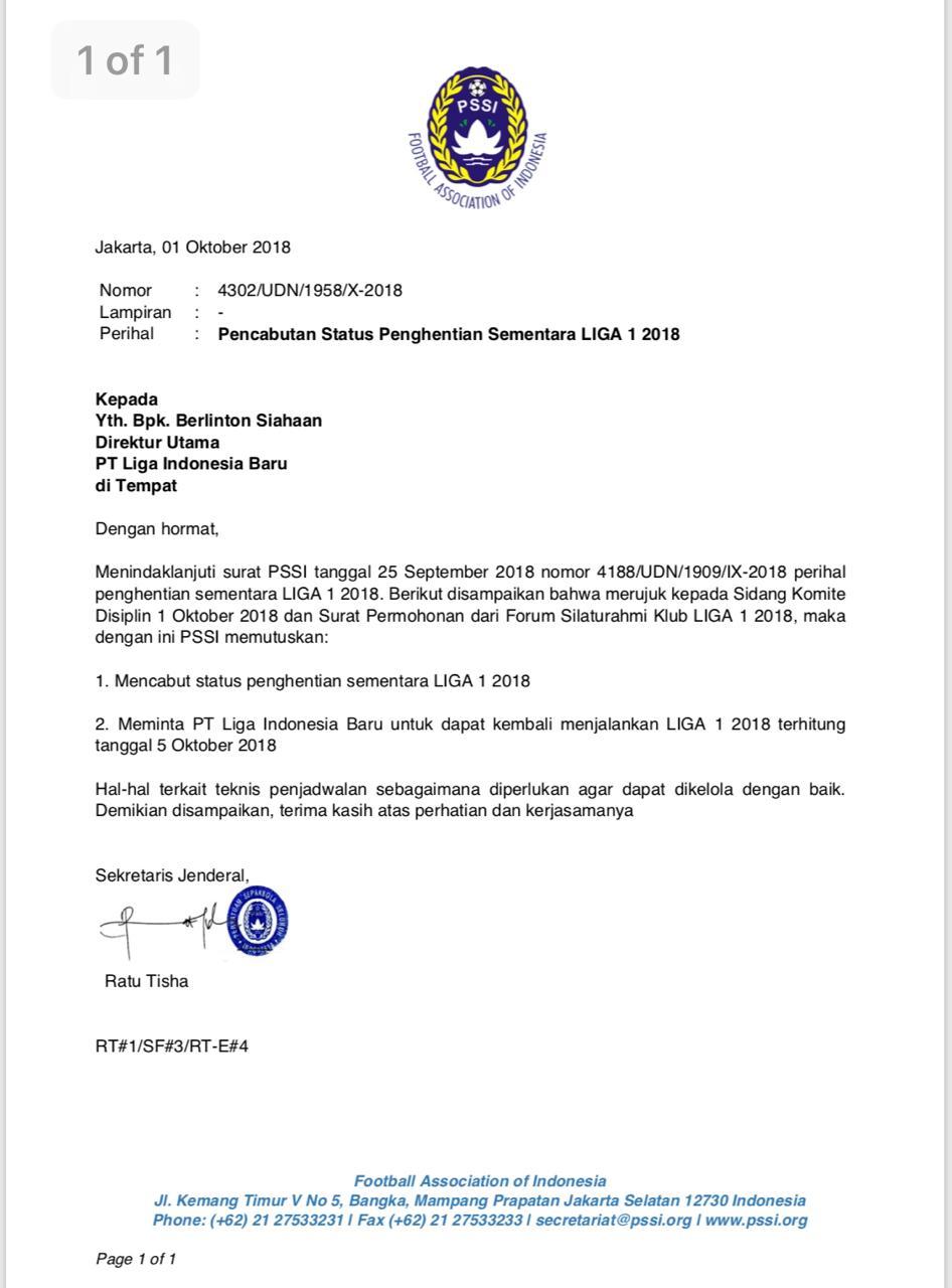 Liga 1 2018 Akan Kembali Bergulir Pada 5 Oktober 2018 Okezone Bola