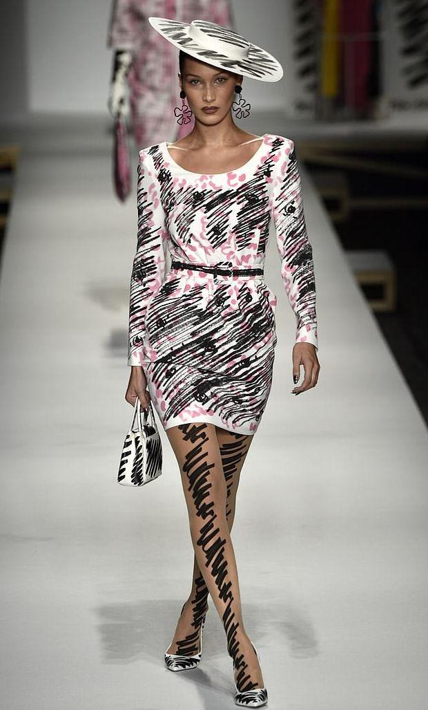 Rumah Mode Moschino (Daily Mail)
