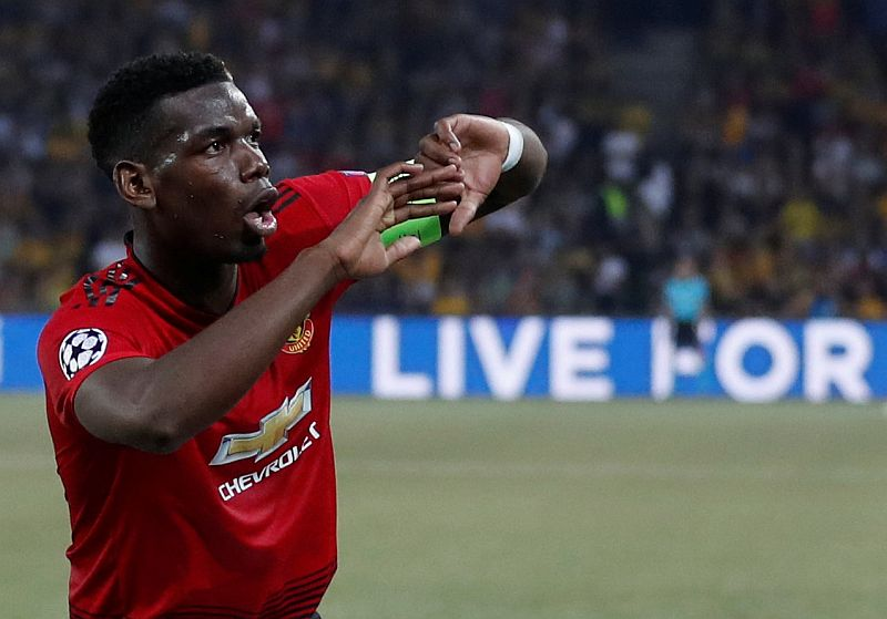 Paul Pogba (Foto: Reuters)