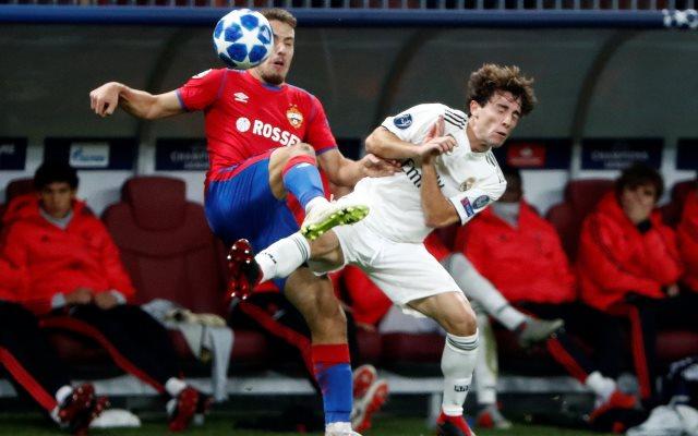 CSKA Moskow vs Real Madrid