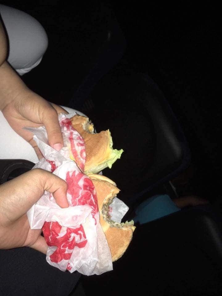 makan burger