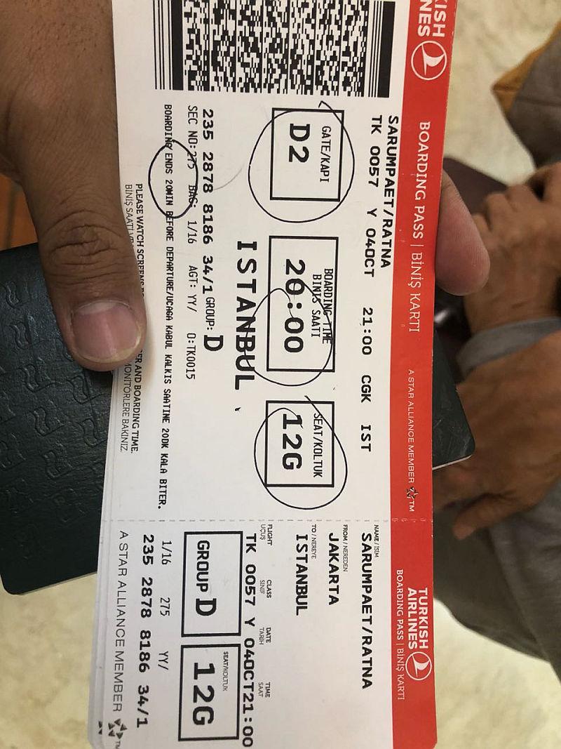 Tiket ke Chile