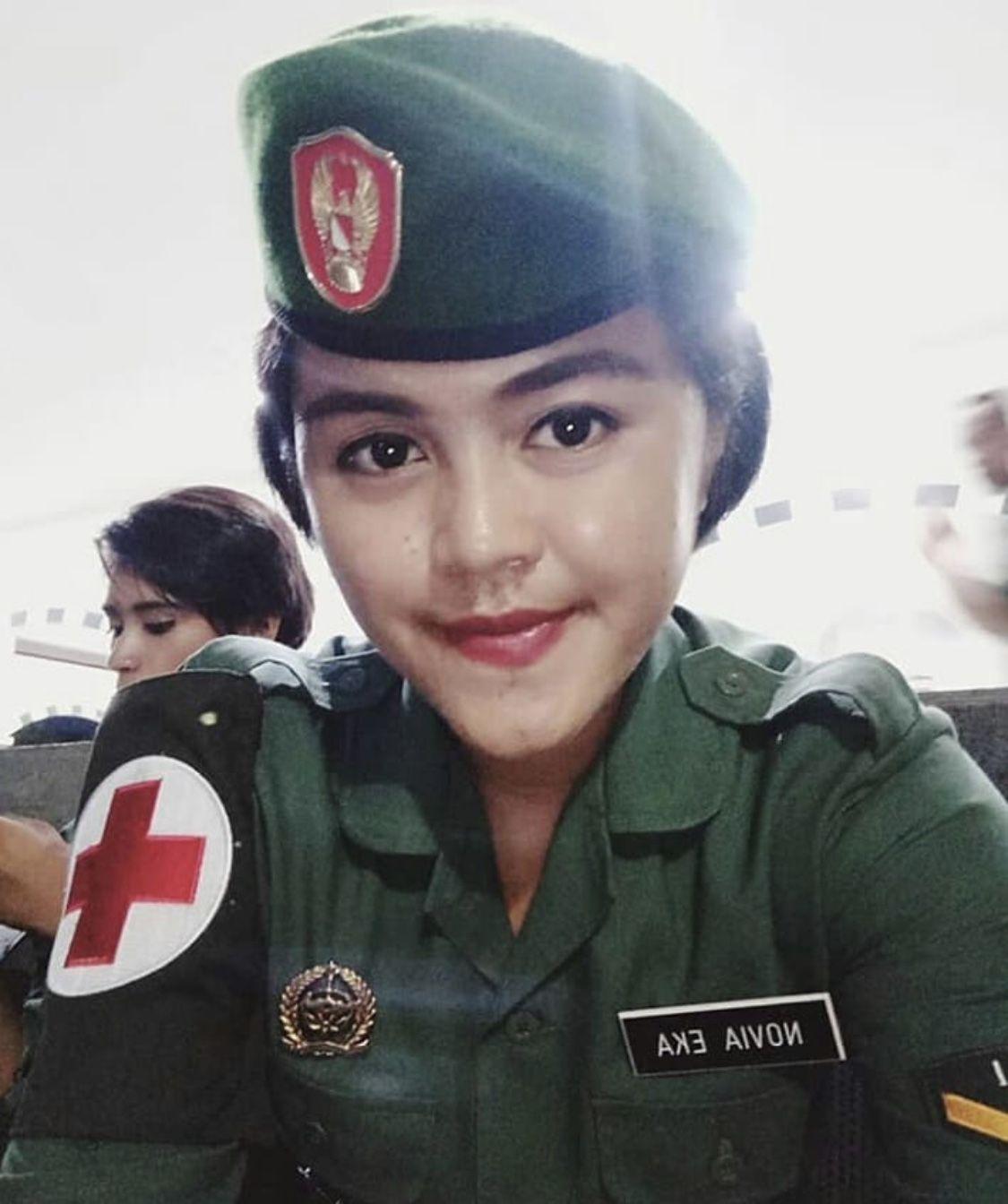 TNI Cantik Novia Eka