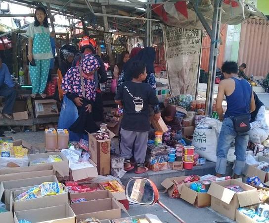 Warga sudah mulai beraktivitas pasca bencana di Sulawesi Tengah. (Foto : Okezone/BNPB)