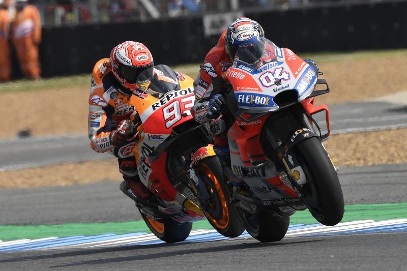Dovizioso vs Marquez
