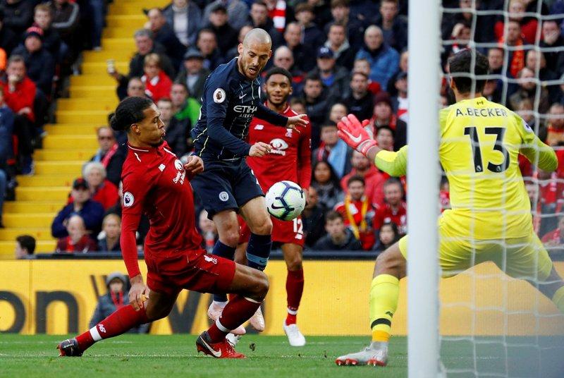 Liverpool vs Man City (Foto: Reuters)