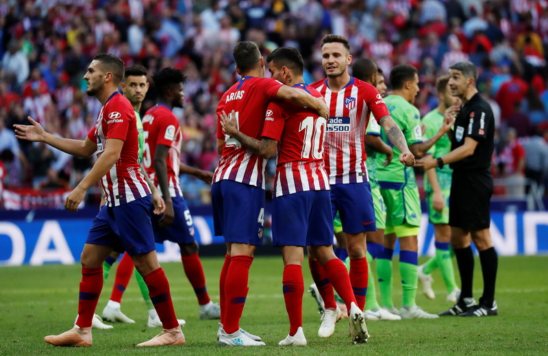 Atletico Madrid (Foto: Reuters)