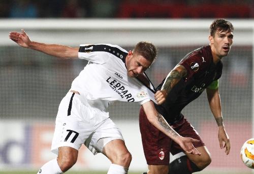 Bek AC Milan Alessio Romagnoli