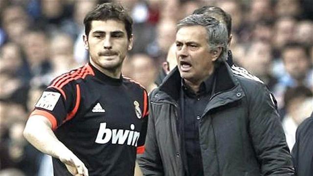 Casillas dan Mourinho