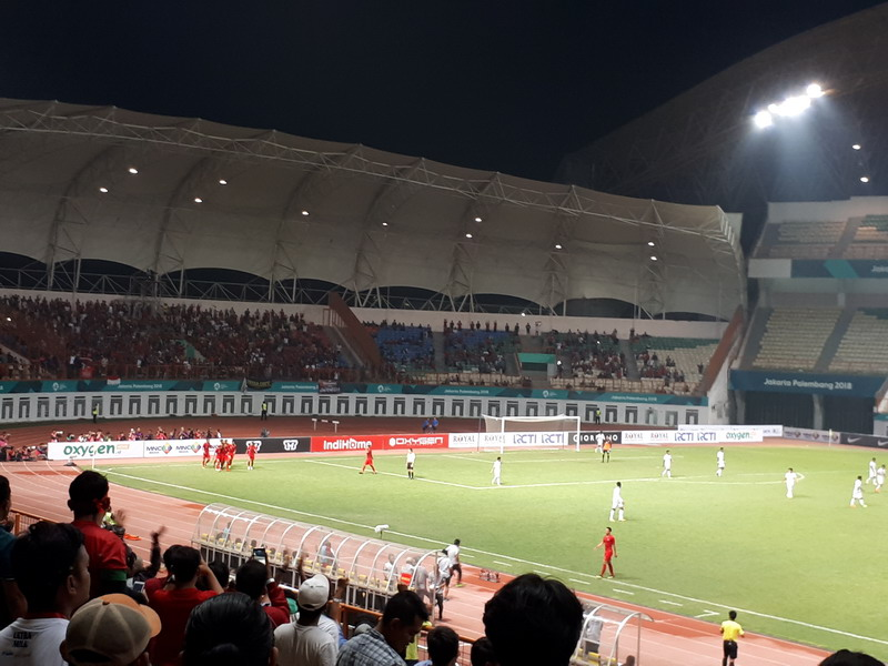 Timnas Indonesia vs Myanmar (Foto: Okezone/Andika Pratama)