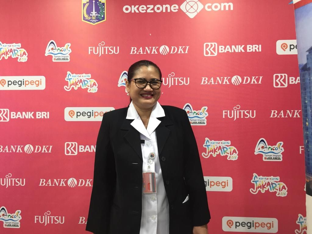 Warna Warni Jakarta 2018 (Pradita Ananda/Okezone)