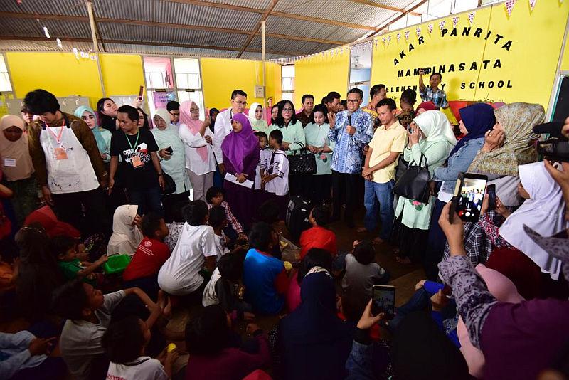 Anak-anak korban gempa dan tsunami Sulteng