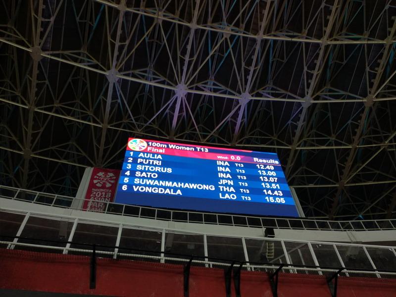 Para Atletik Indonesia (Foto: Admiraldy Eka Saputra/Okezone)