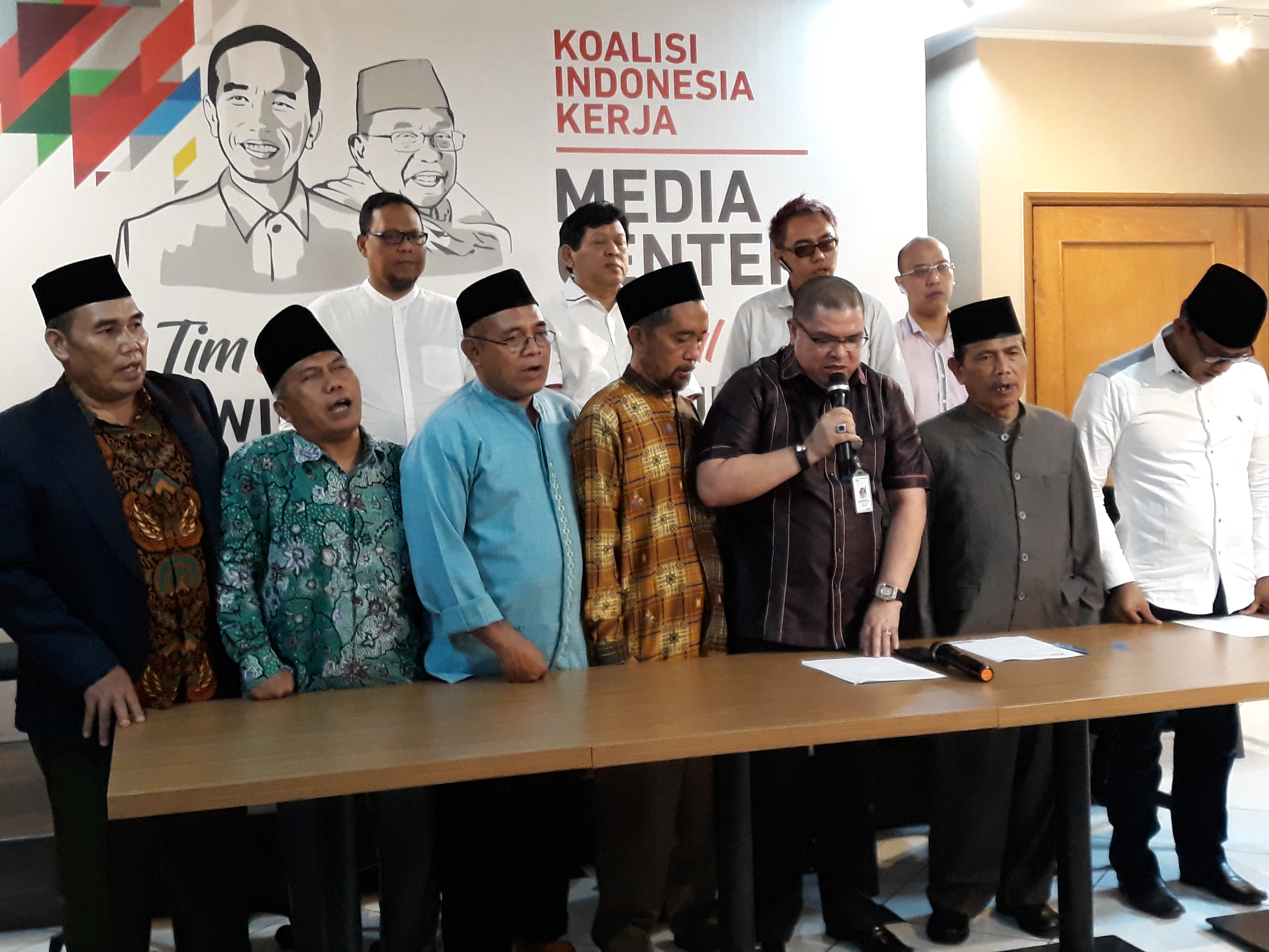Alumni 212 deklarasi dukung Jokowi-Ma'ruf Amin