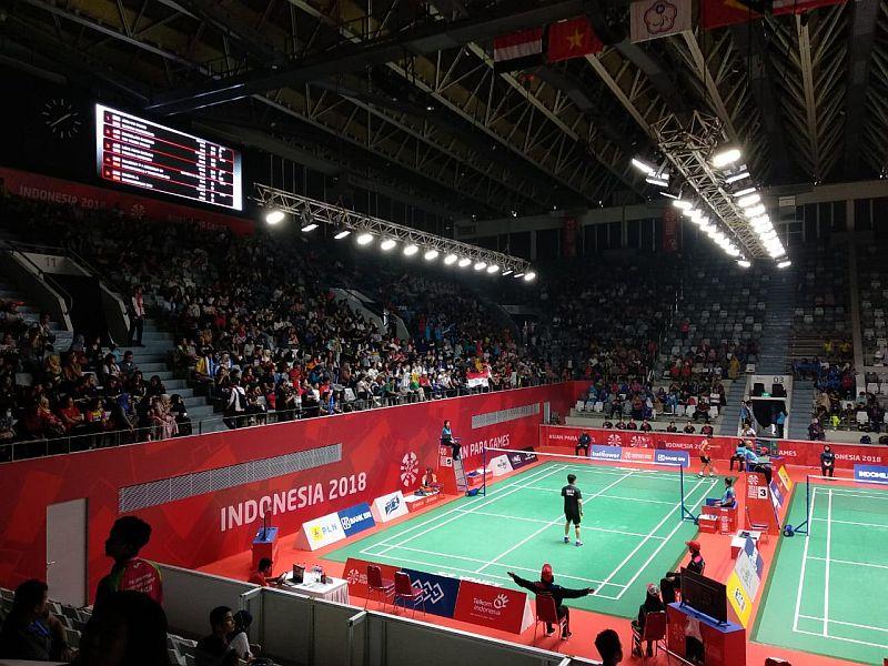 Bulu Tangkis Asian Para Games 2018