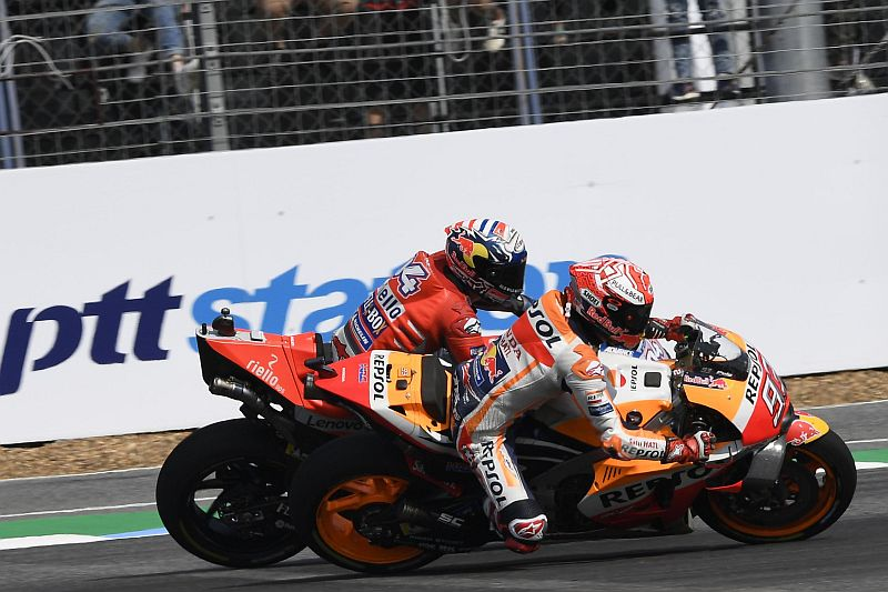 Marquez vs Dovizioso