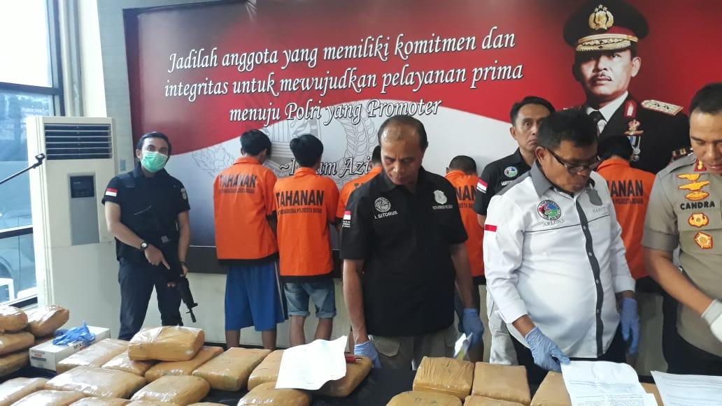 Polisi bongkar pengedar narkoba jaringan napi