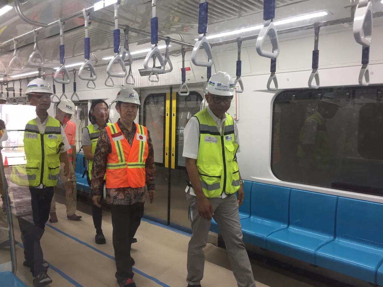 Menuju Operasional Pengerjaan Mrt Jakarta Tinggal Finishing