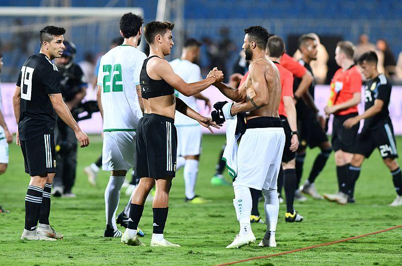 Timnas Irak vs Argentina