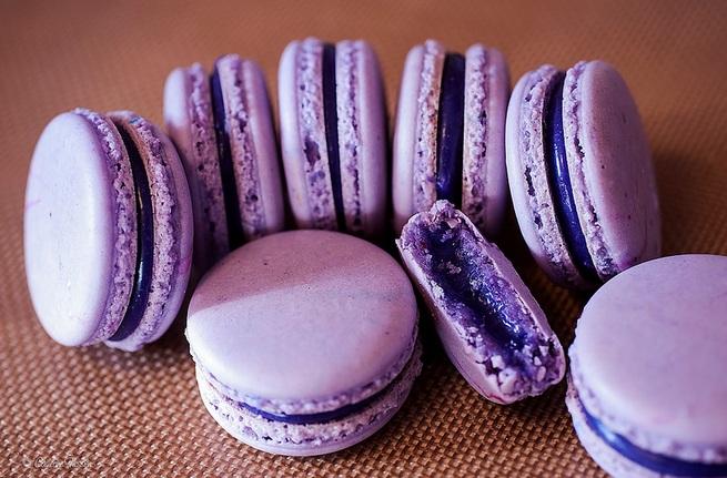 Macaron Taro (Flickr)
