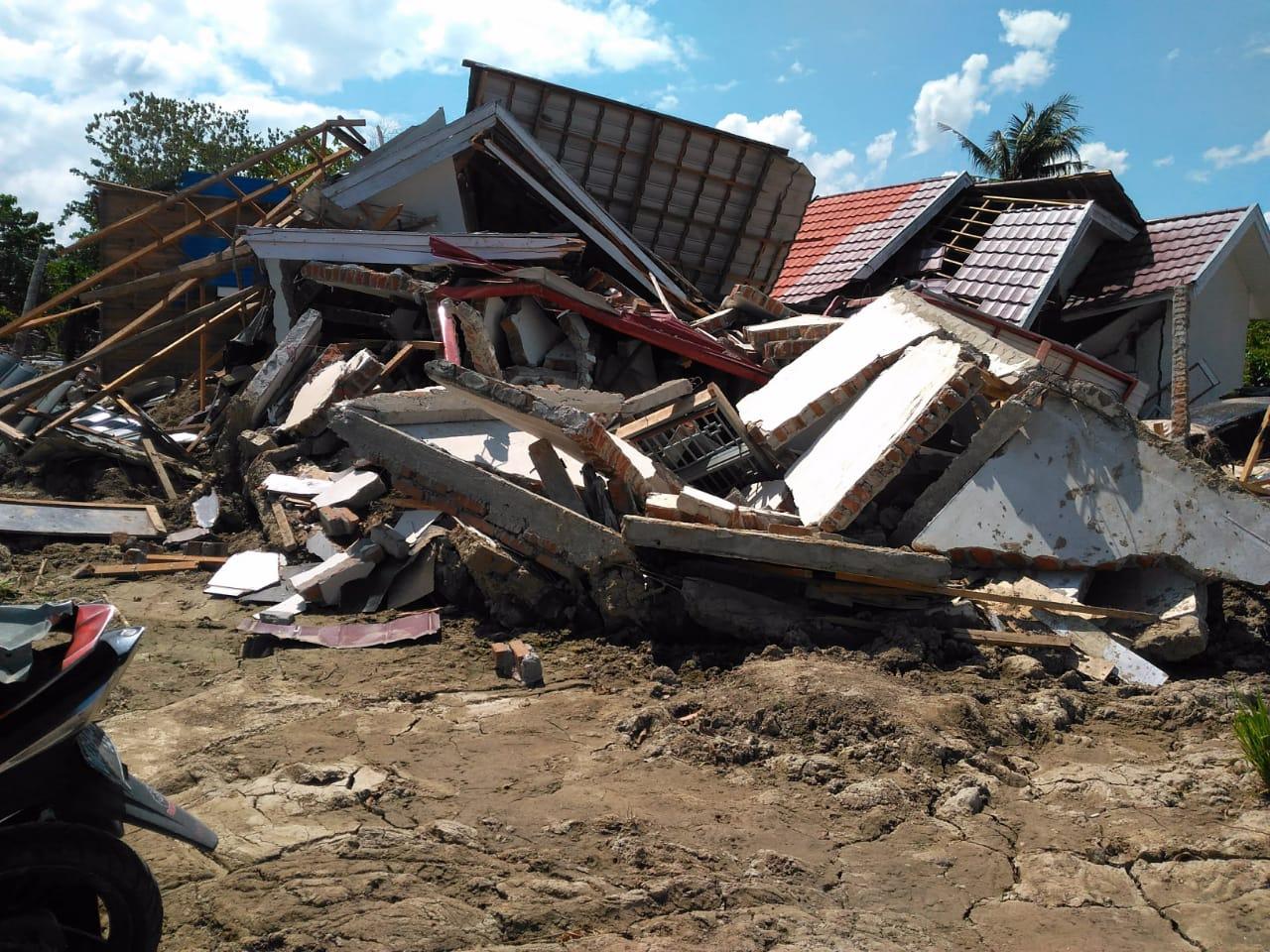 Kondisi Pasca-Likuefaksi di Petobo, Palu, Sulteng (foto: Herman A/Okezone)