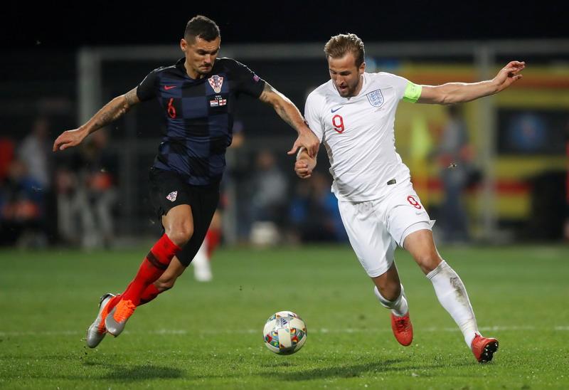Kroasia vs Inggris (Foto: Reuters)