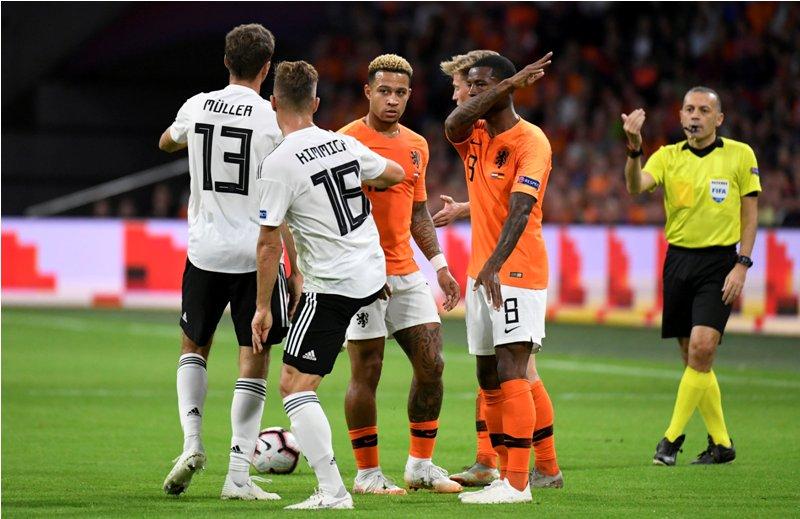 Belanda vs Jerman (Foto: Reuters)