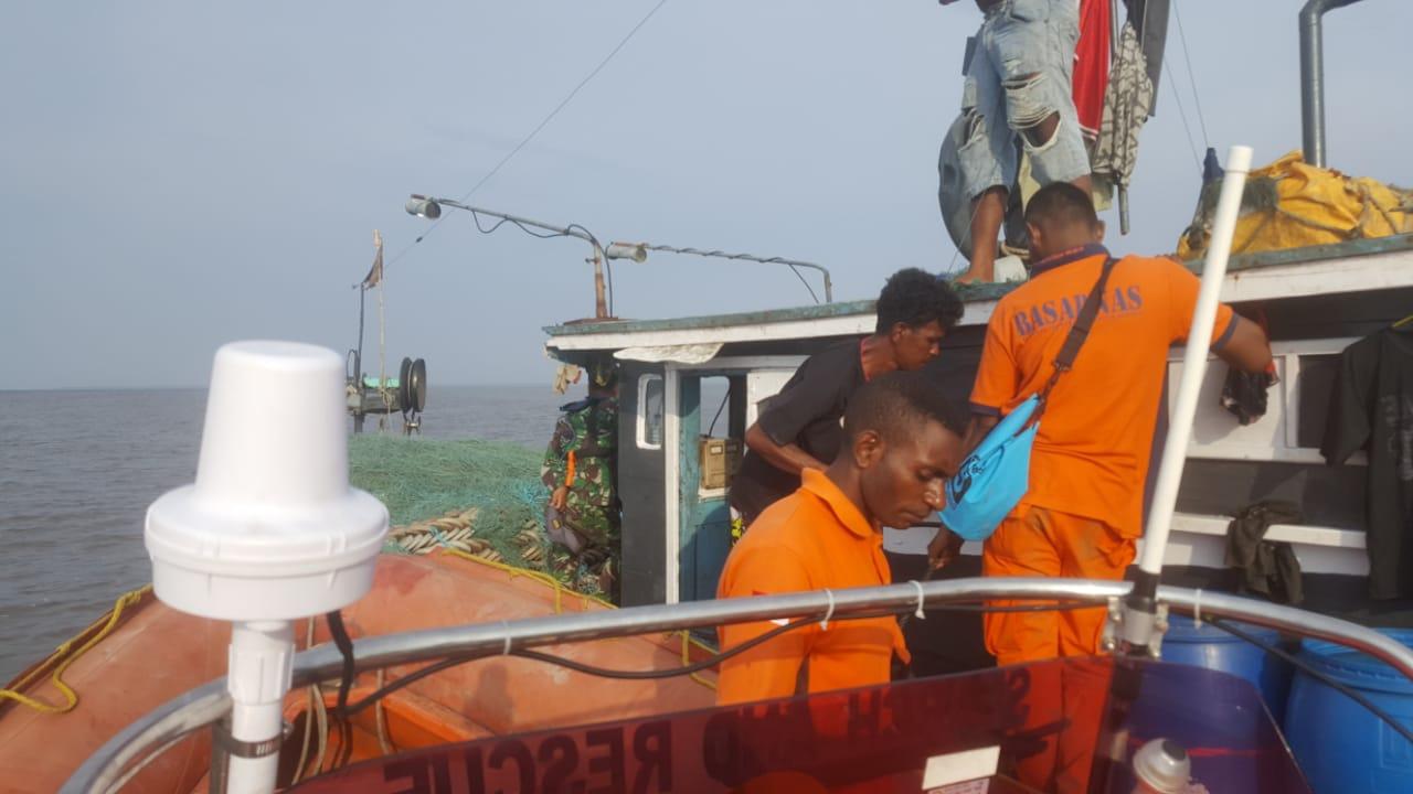 Pencarian Longboat di Papua